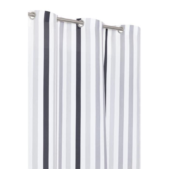 rideaux gris et noir cool un rideau gris with rideaux gris et noir stunning rideaux gris et. Black Bedroom Furniture Sets. Home Design Ideas