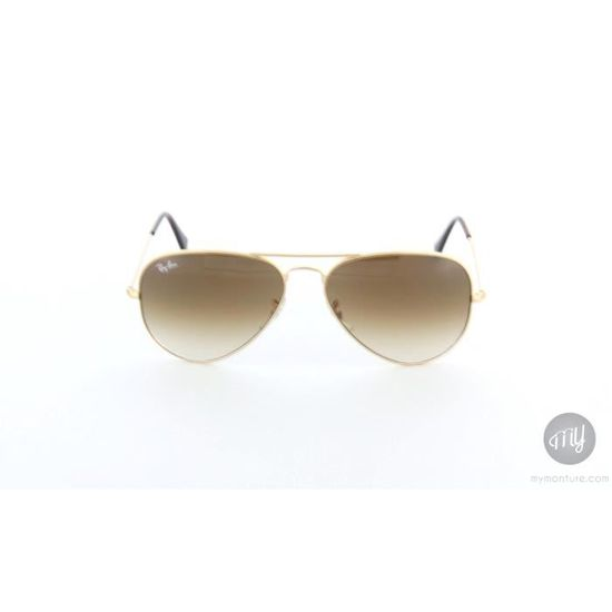 RAY BAN Lunettes de soleil Femme Modèle RB3025 Aviator - Catégorie 3 -  Monture Or et métal Or, Métal - Achat   Vente lunettes de soleil Femme -  Cdiscount 012001352f92