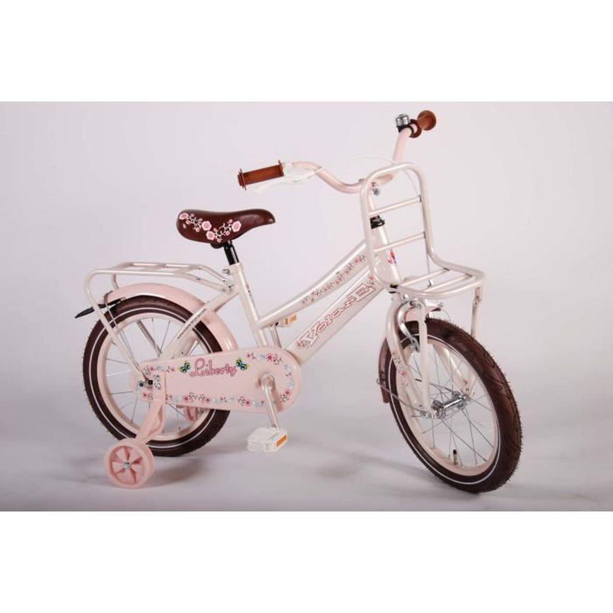 v lo l gant pour fille 16 pouces rose avec roues de. Black Bedroom Furniture Sets. Home Design Ideas