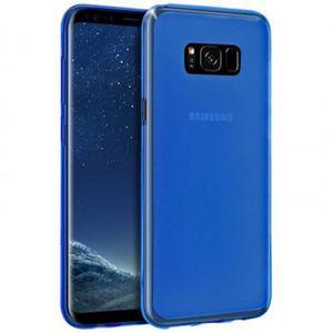 coque silicone bleu samsung s8