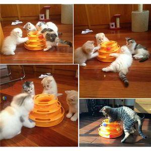 JOUET Chat animal fou 3 jouet interactif Chase boule pla