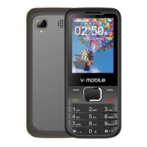 Téléphone portable V·mobile D2 Téléphone pour Seniors Ecran de 2.4 po