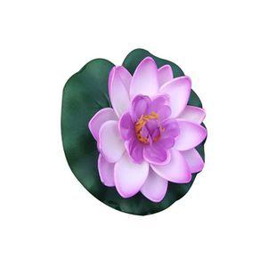 Fleur de lotus artificielle - Achat / Vente pas cher