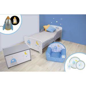 CHAMBRE COMPLÈTE BÉBÉ CIJEP Pack chambre pour enfant thème Espace - modè