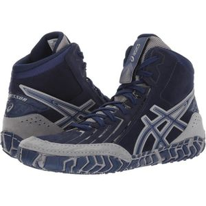 the best attitude 8b763 b93f3 CHAUSSON - PANTOUFLE Asics Aggressor 3 Lutte chaussures Z3GGX Taille-45 ...