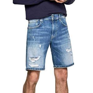 JEANS Short Denim Canne Pepe Jeans pour Homme