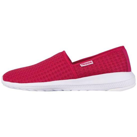 Kappa Confortables, chaussures de sport bas-top femmes 1RVXDC - Taille-38 1-2 Rose Rose - 1RVXDC Achat / Vente basket da3787