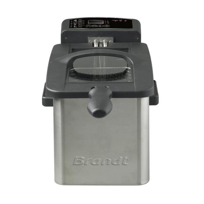 BRANDT FRI2102E Friteuse électrique semi-professionnelle - Inox