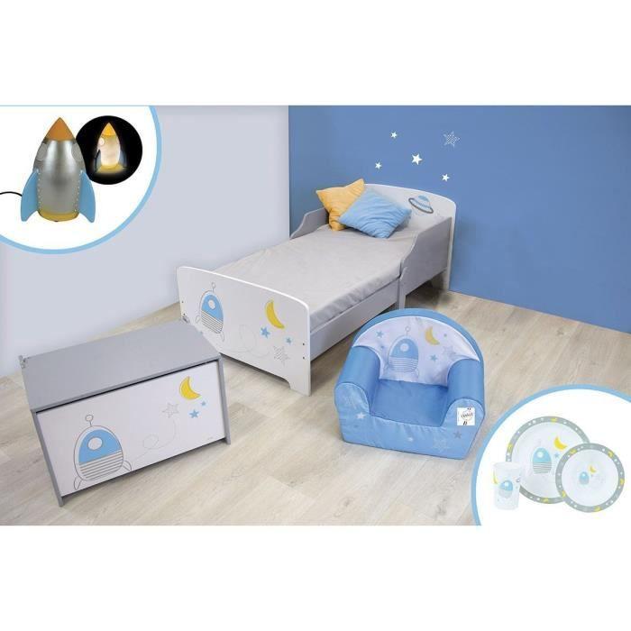 CIJEP Pack chambre pour enfant thème Espace