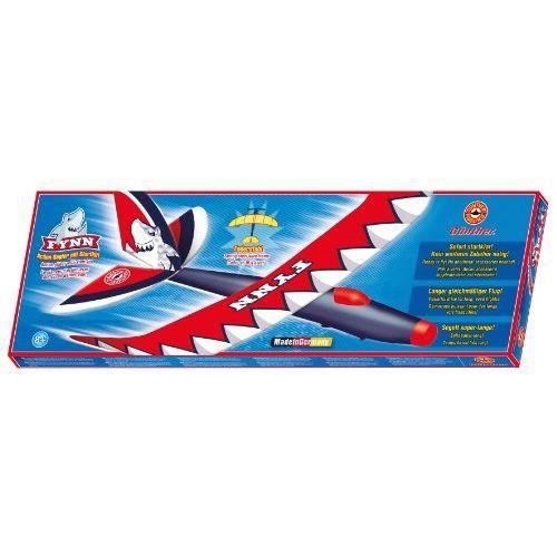 """Planeur à catapulte """"FYNN"""" avec set de démarrage et ailes aerodynamiques.AVIATION MINIATURE"""