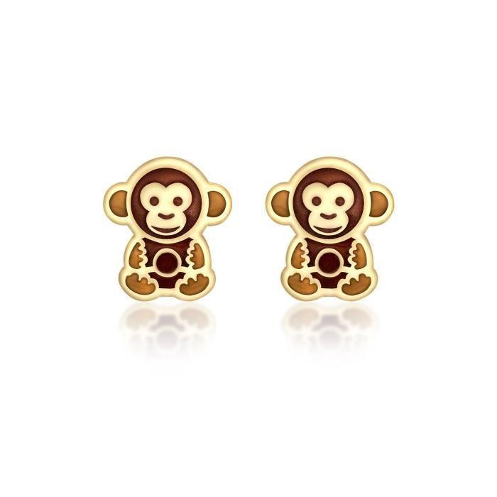 Carissma Gold - Boucles Doreilles - Or Jaune 9 Cts - 1.55.8169 PGXBJ