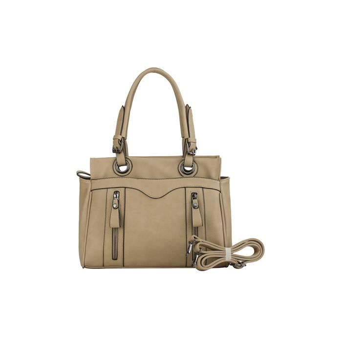 Sac série Chic Seven taupe