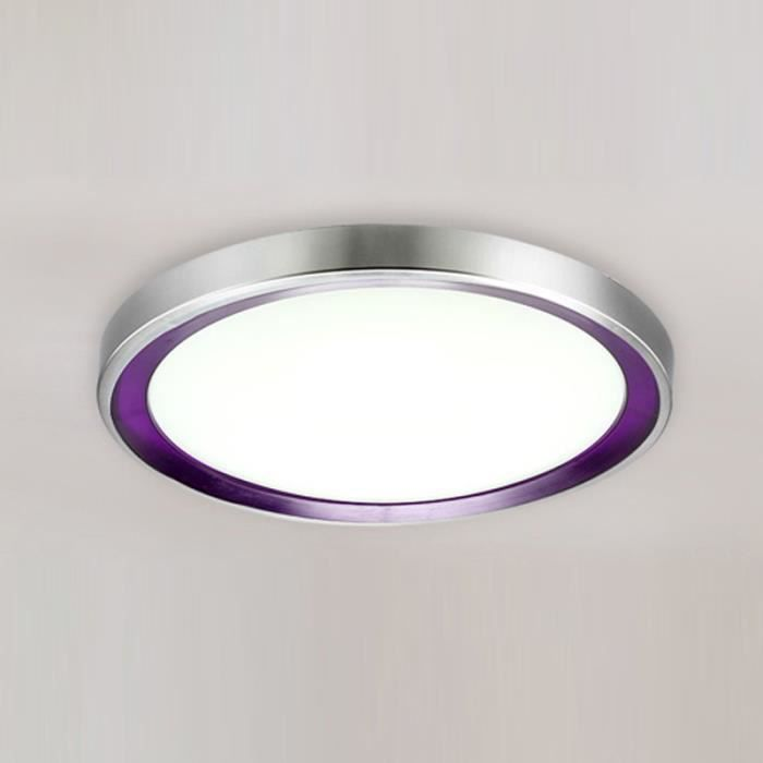 Salon De Violet Plafonnier Lampe Led Rond Circulaire Plafond oeCxdB