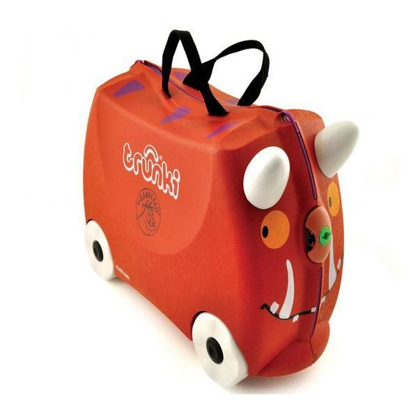 Valise à roulettes Trunki gruffalo rouge - Collection 2018