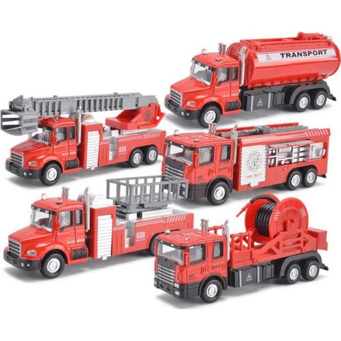 v hicule de camion de pompier jouet voiture miniature. Black Bedroom Furniture Sets. Home Design Ideas