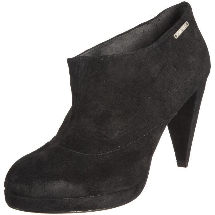 DIESEL bottines cuir femme DESSY noir