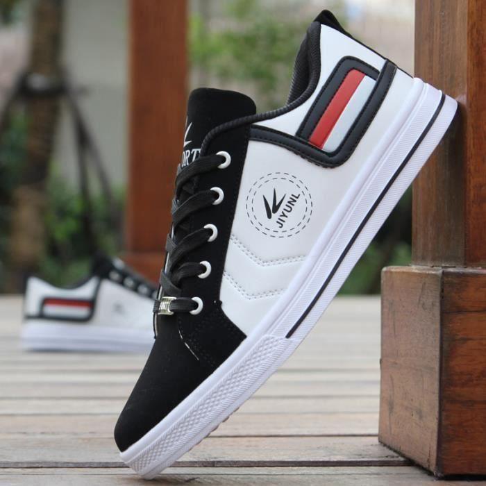 Sport la chaussure de loisir Noir Blanc