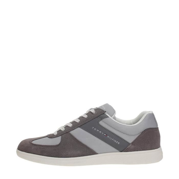 Tommy Homme Hilfiger 45 Hilfiger Sneakers LIGHT Tommy GREY rdr8wIqZx