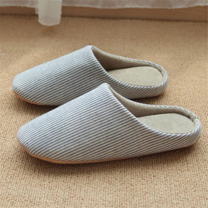Hommes Pour Maison Hiver Qualité Hiver L'Hiver Plus Pantoufle SupéRieure Homme Chaussons Chaussures De Chaussure Peluche Fa8gq