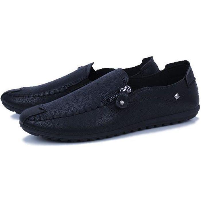 2021b9988ee ... Grande Taille Confortable Classique Loafer moccasins homme cuir.  MOCASSIN Chaussures homme en cuir 2018 nouvelle marque de l