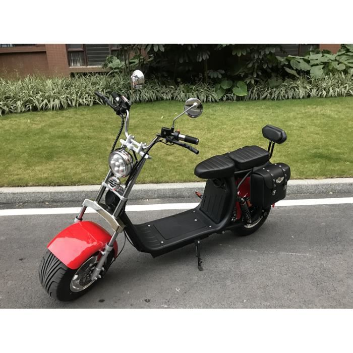 scooter electrique harley haute qualit pneus larges 1000w hoverboard achat vente scooter. Black Bedroom Furniture Sets. Home Design Ideas