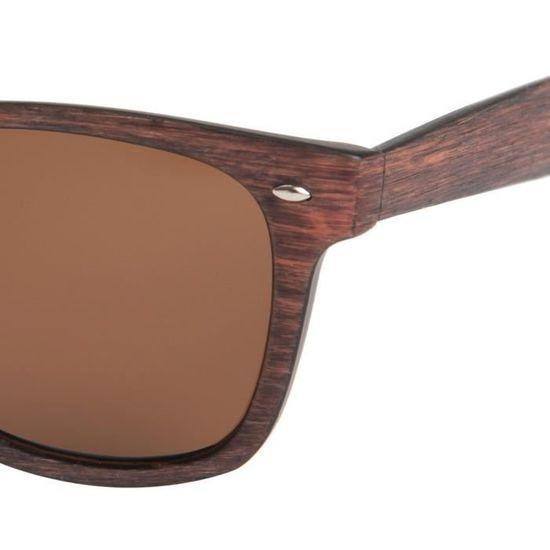 51e3f45068f41c TOM SMITH Lunette Tom Smith Sts03108 Noir Bois - Achat   Vente lunettes de  soleil Homme - Cdiscount