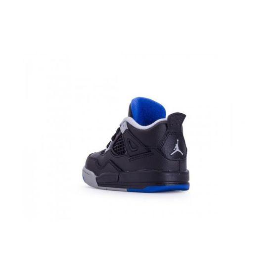 new arrival 65d8c 6edc3 Basket Nike Air Jordan 4 Retro TD Bébé - 308500-006 Noir Noir - Achat    Vente basket - Cdiscount