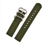 MONTRE 20MM bande de poignet en nylon militaire Bracelet