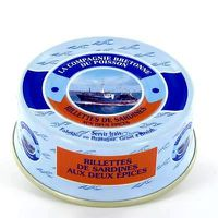 PATÉ - TERRINE Rillettes de sardines aux deux épices.