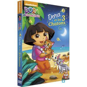 DVD DESSIN ANIMÉ DVD Dora l'exploratrice - Dora et les 3 chatons