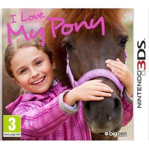 JEU NEW 3DS - 3DS XL I Love My Pony - Jeu Nintendo 3DS