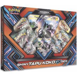 CARTE A COLLECTIONNER COFFRET - BOX POKEMON SHINY TAPU KOKO GX VERSION A