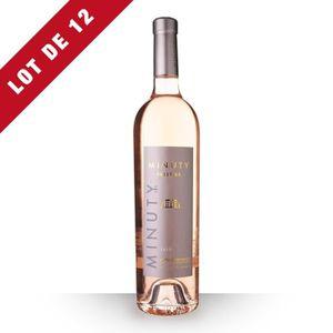 VIN ROSÉ 12x Minuty Prestige 2017 AOC Côtes de Provence - 1