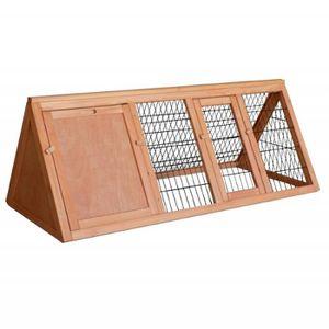 CLAPIER Clapier / Cage à lapin en bois / Cabane pour lapin