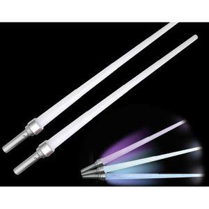 BÂTON - ÉPÉE - BAGUETTE Set de 2 sabres laser