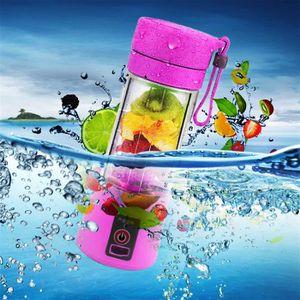 PRESSE-AGRUME Tasse électrique à jus-380ML portable rose