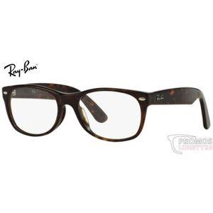 99b44437cf009e Lunettes de vue Ray Ban RX5184 -5405 Noir mat Noir - Achat   Vente ...