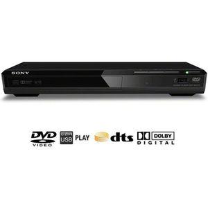 LECTEUR DVD SONY DVP-SR370B Lecteur DVD / Xvid USB
