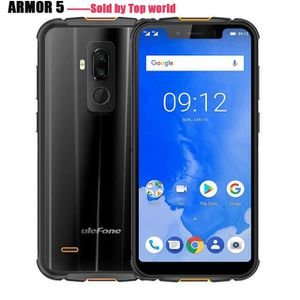 SMARTPHONE Ulefone Armor 5 IP68 étanche Smartphone Android 8.