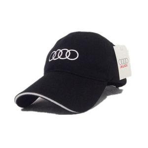 1PCS Audi noir coton Racing Sports Cool Mixte Cap Sport Racing casquette de  baseball de chapeau 94bc14f3f6b2