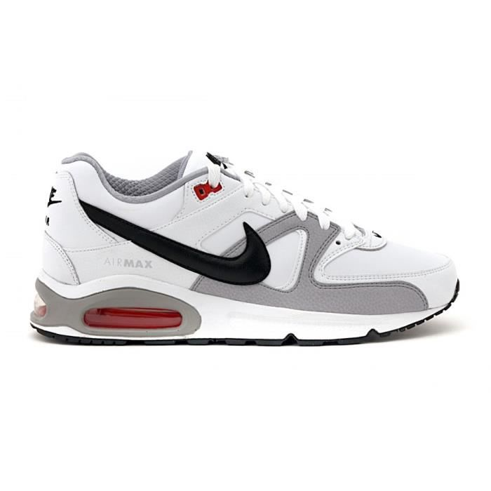 Command Baskets Homme Air Blanc Gris Achat Max Leather Nike kX8nN0OPw
