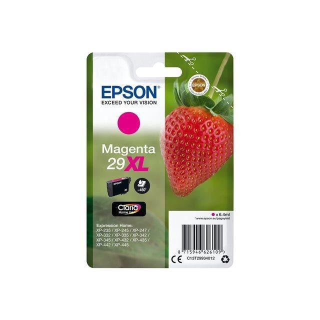 EPSON Cartouche T2993 - Fraise - Magenta XL