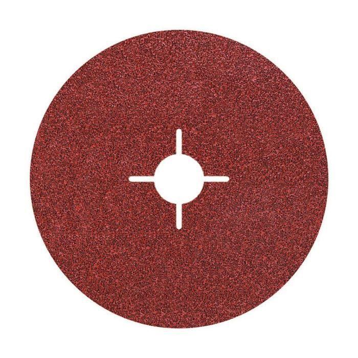 Wolfcraft lot de 5 disques fibre pour meuleuse gr40 Ø178mm