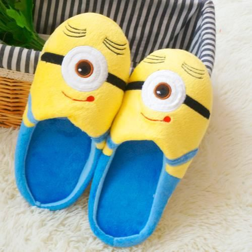 Despicable Me Minion Moi Moche Et Méchant Minion Slippers Shoe Jorge chaussons size 38-39 TcQh3A