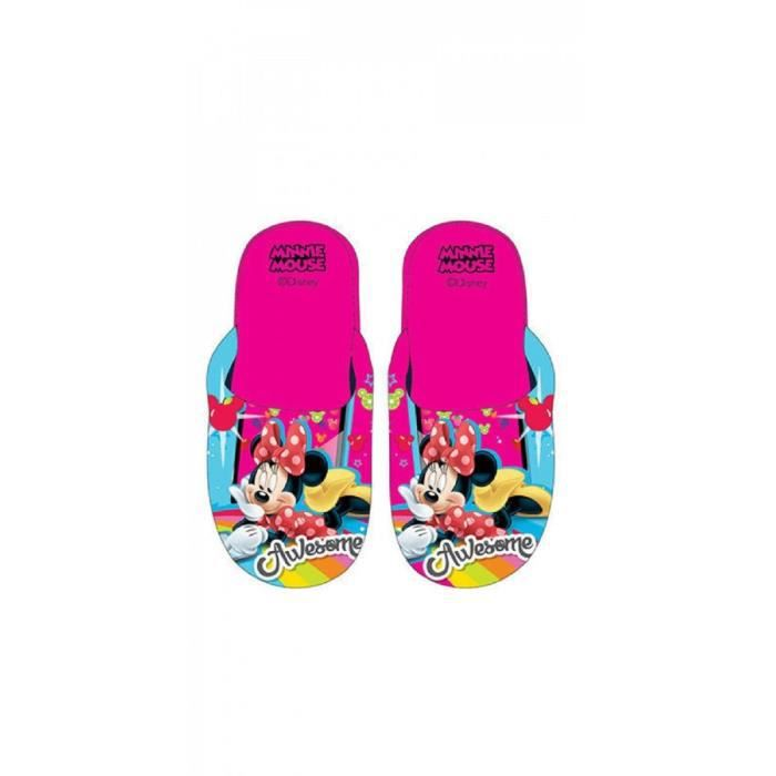 Taille 29/30 * Chaussons Pantoufles MINNIE Disney Fille Polyester