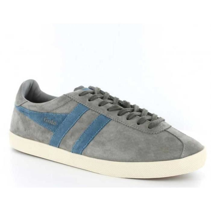 Chaussure Baskets basses Gola Trainer Suede Cool Grey Pro Blue Homme Pointure 41 mVpzo6hVK9
