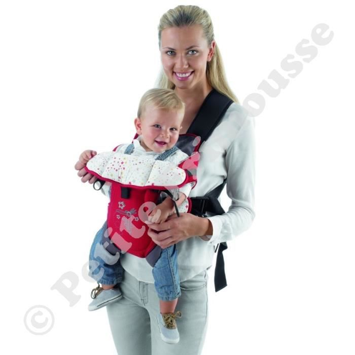 Jane - Porte bébé Baby Carrier Cosmos Rouge éto… Rouge - Achat ... 2c6aaa22502
