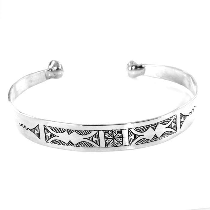 bracelet homme argent boule yaamenemhai bijoux ethnique. Black Bedroom Furniture Sets. Home Design Ideas