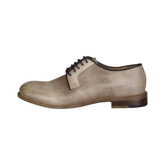 Made in Italia - Chaussures à lacet pour homme (LEANDRO_TAUPE) - Brun CrwrxapL