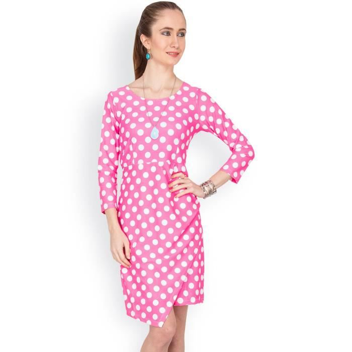 Womens Solid 3-4thsleeves Dress GPUQA Taille-38